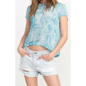 NWT RVCA Michelle blade shutter top large